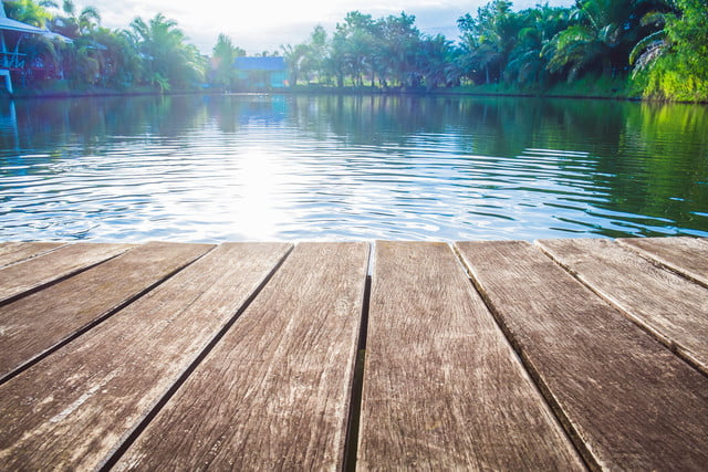 photojournalist reunited with camera after attack  antique wooden pier on the lake sunlight effects