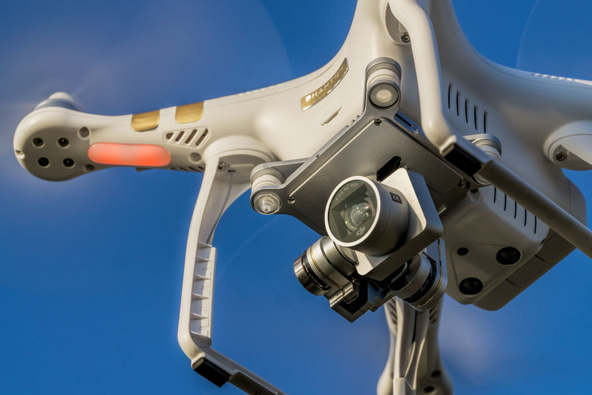 drone hit woman head charges pressed  l