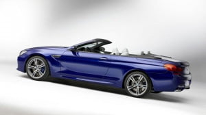 2013 M6 convertible side view