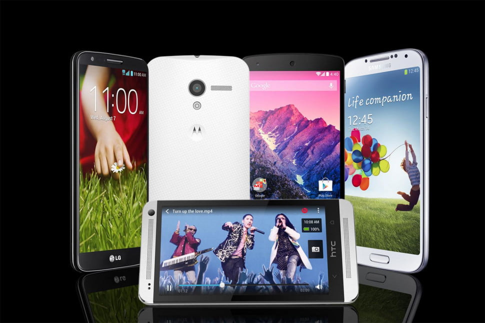 5 hottest Android phones