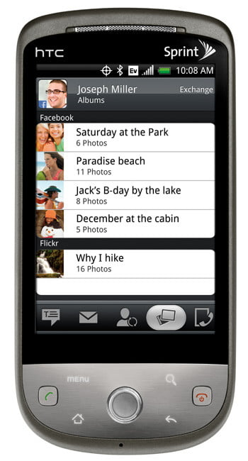 HTC Hero from Sprint