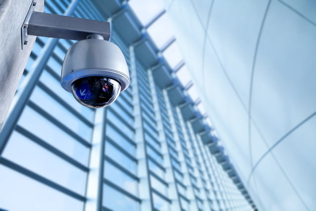 dc ransomware cameras  security cctv camera in office building