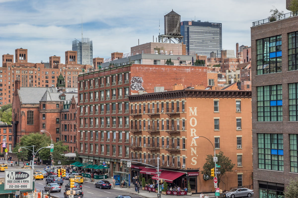 airbnb tax revenue loss states  view from the high line in chelsea new york