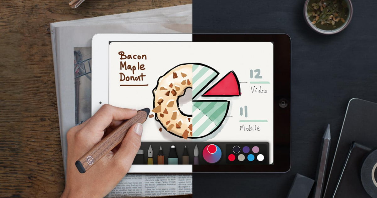 53 paper app help The company recently partnered with moleskine to allow paper users to create a $40 custom-printed 15-page book of sketches and designs created within the app.