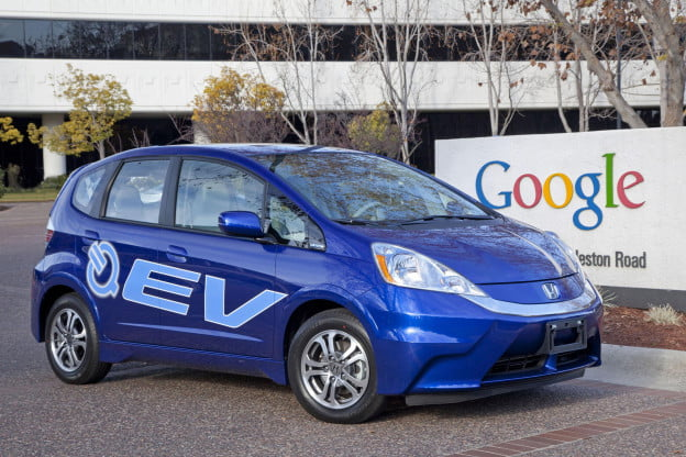 Honda Fit EV at Google (large)