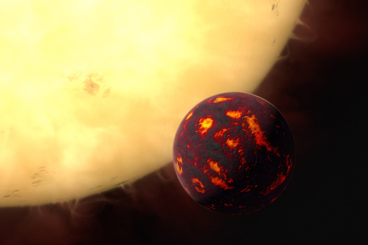 astronomers detect atmosphere of super earth  cancri