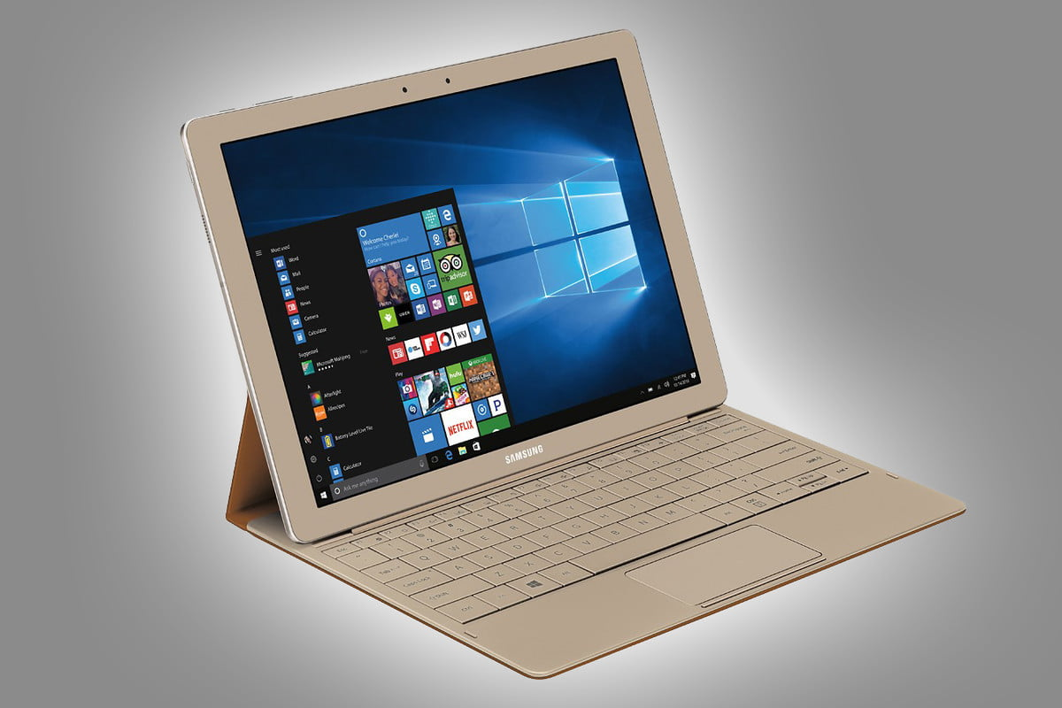 samsung galaxy tabpro s gold deal  rd