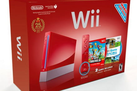 Nintendo Wii red October 2010