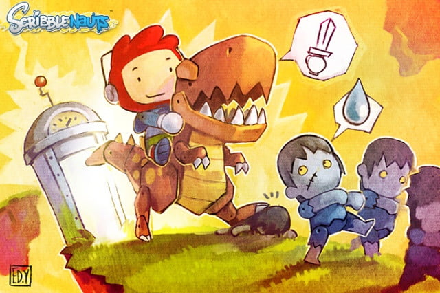 scribblenauts sequel canceled developer lays off staff  thcell header