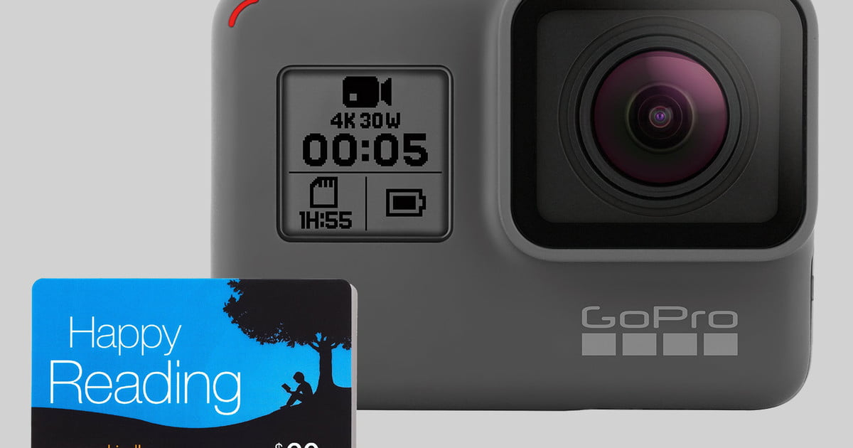 Gopro Hero5 Black Deal Get A 60 Gift Card When You Buy