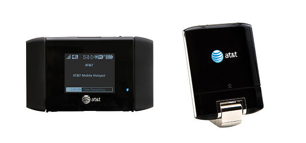 AT&T Mobile Hotspot Elevate 4G, USBConnct Momentum 4G