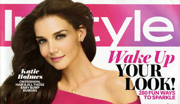 Time Inc InStyle Aug 2011 Holmes