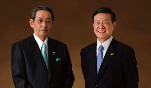 Panasonic chairman and president