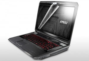 MSI GT780R gamer notebook