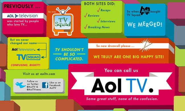 AOL TV infographic