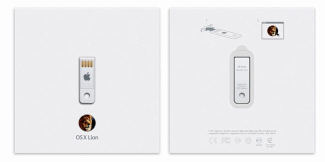 Apple Mac OS X Lion USB stick
