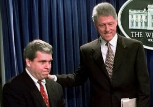 Joe Lockhart & President Clinton