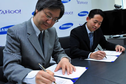 Yahoo and Samsung ink mobile services deal