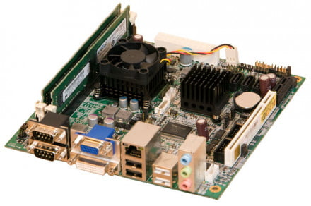AMD Fusion G-series embedded processor (board)