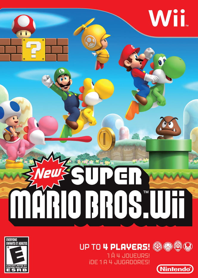 New Super Mario Bros. Wii (box)