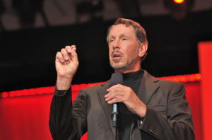 Larry Ellison (photo: Oracle Corporate Communications)