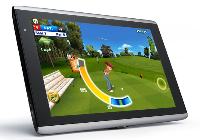 Acer Iconia A500 Let's Golf