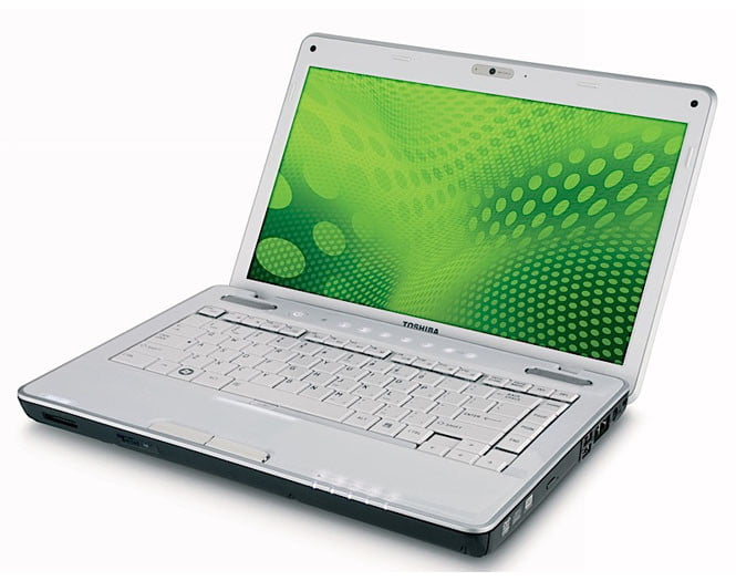 Toshiba notebook with Intel Core i(x) CPU (CES 2010)