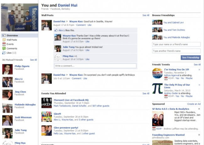 Friendship Page