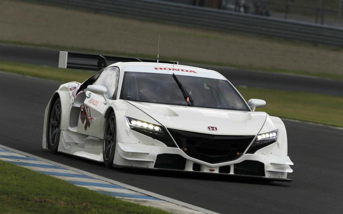 honda introduces a hybrid tea kettle that can also compete in the japanese super gt nsx concept