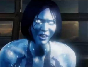 Cortana during her rampancy