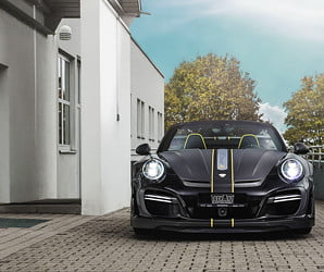 Techart's turbocharged Porsche 911 Cabriolet is the best way to have a bad hair day
