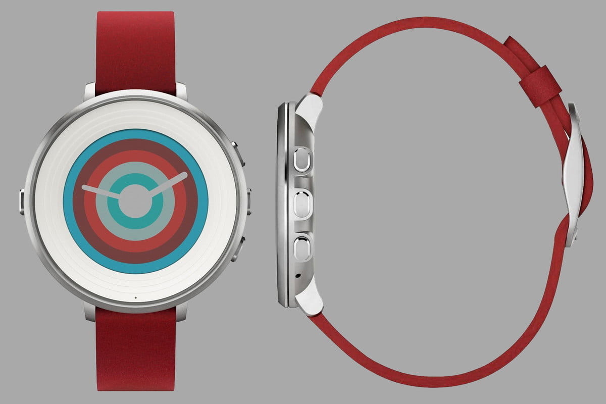 pebble time round smartwatch deal