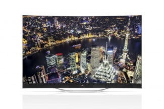 77-inch OLED image straight 2