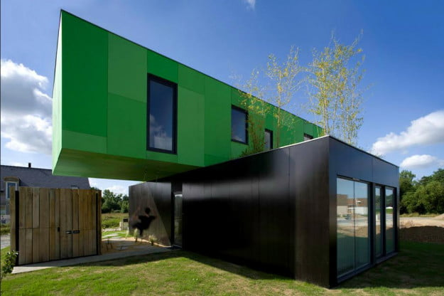 Great shipping container houses in brisbane tiger containers - Container homes queensland ...