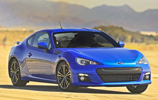 2013 Subaru BRZ front three-quarter view