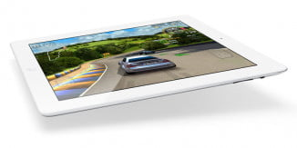 iPad 2 white gaming (Apple)