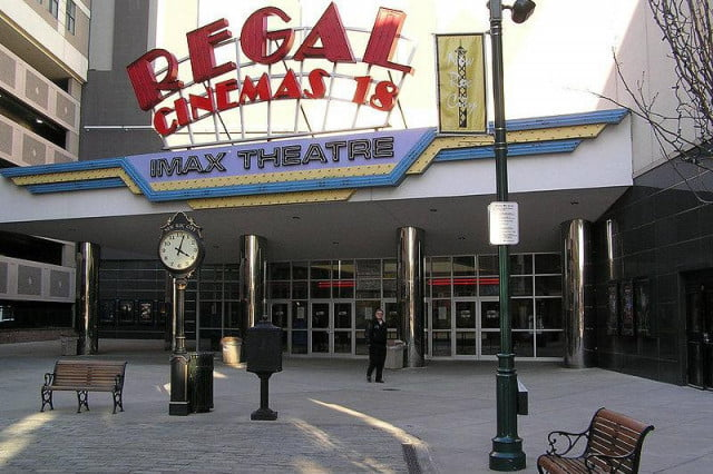 regal theaters will check moviegoers bags in response to attacks cinemas imax theatre