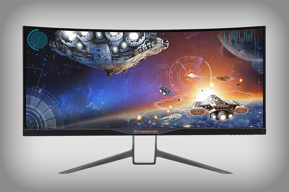 acer predator curved gaming monitor deal  scmsdcxnl sl