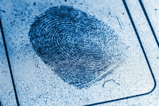 murder victim fingerprint unlocks phone  dusty record