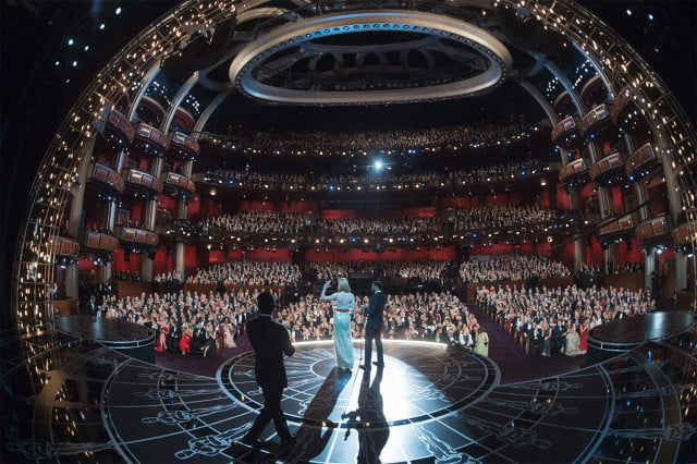 first oscars presenters  academy awards th stage