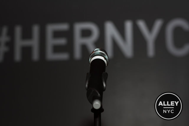 at hernyc comedians talk about the dangers of being a woman comic and online  her rose