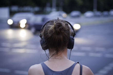 Headphones music streaming