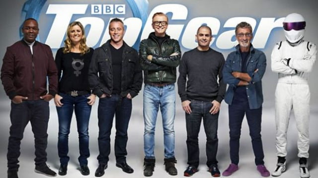 top gear will be hosted by six humans and a stig full cast