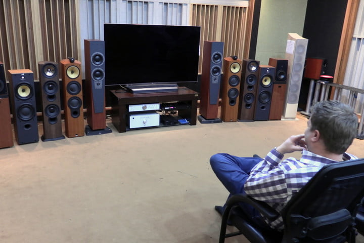 exclusive tour of lgs manufacturing and assembly lines  audiophiles crave kef b w dynaudio