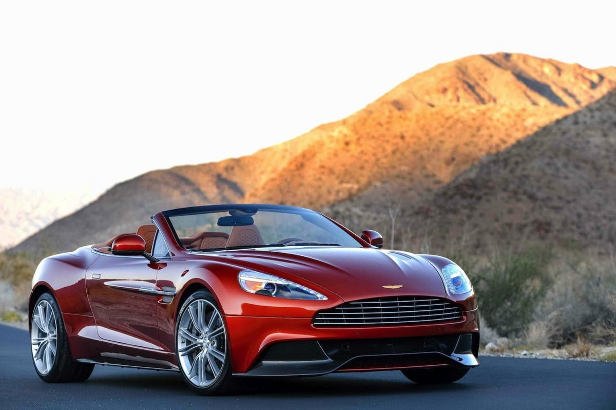 aston martin to be bought by daimler rumor has it vanquish volante