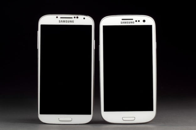 Galaxy S4 and Galaxy S3