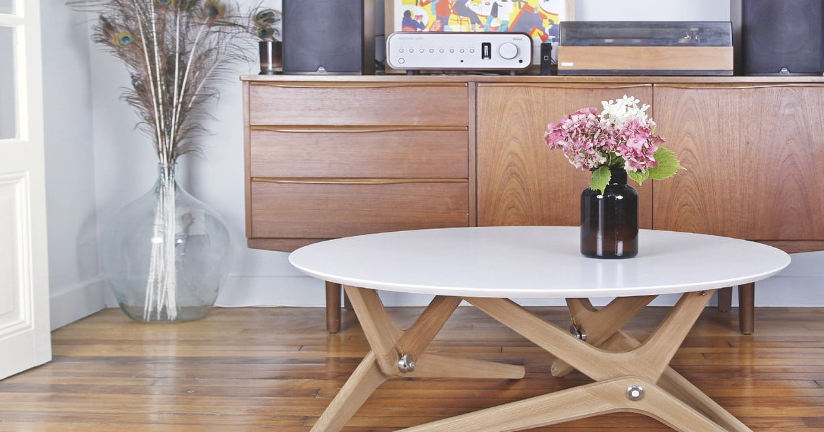 This kickstarter shape shifting table is a thing of beauty digital trends - Shape shifting house ...