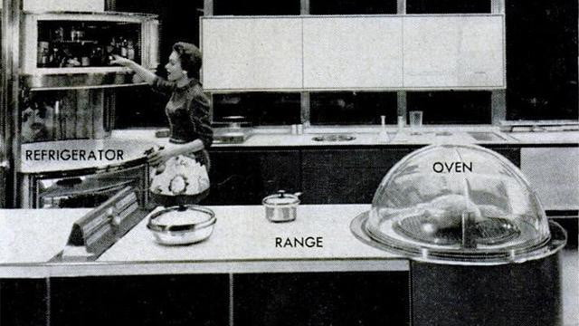 What The 1950s Kitchen Of The Future Got Right And What