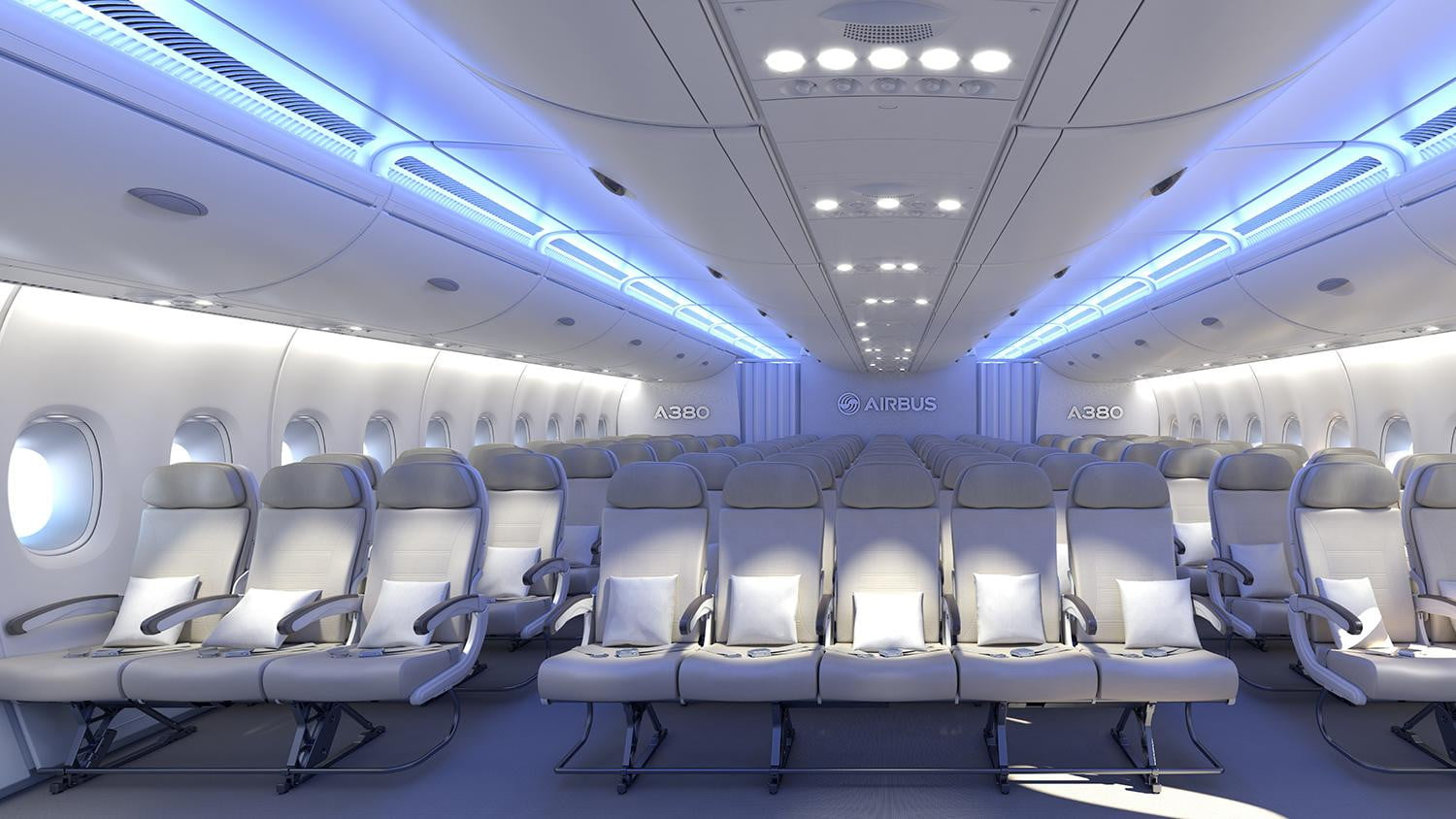 designs of a380 A us-based design company is nearing completion of an interior design for a prospective customer for the vip version of the airbus a380 flying palace and has released an image to the public.