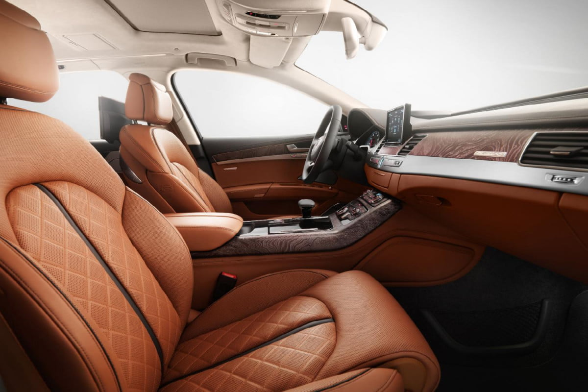 flagship version audis stunning audi a  exclusive concept interior